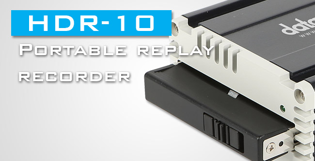 HDR-10 Portable Replay Recorder