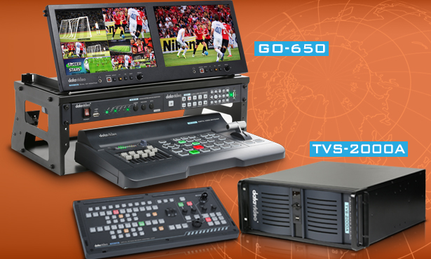 GO 650 Studio and TVS-2000A 3D Tracking Virtual Studio System are Now Shipping