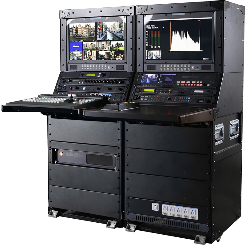 BVE 2014 News: Broadcast facility on the move: Datavideo launches new portable production unit