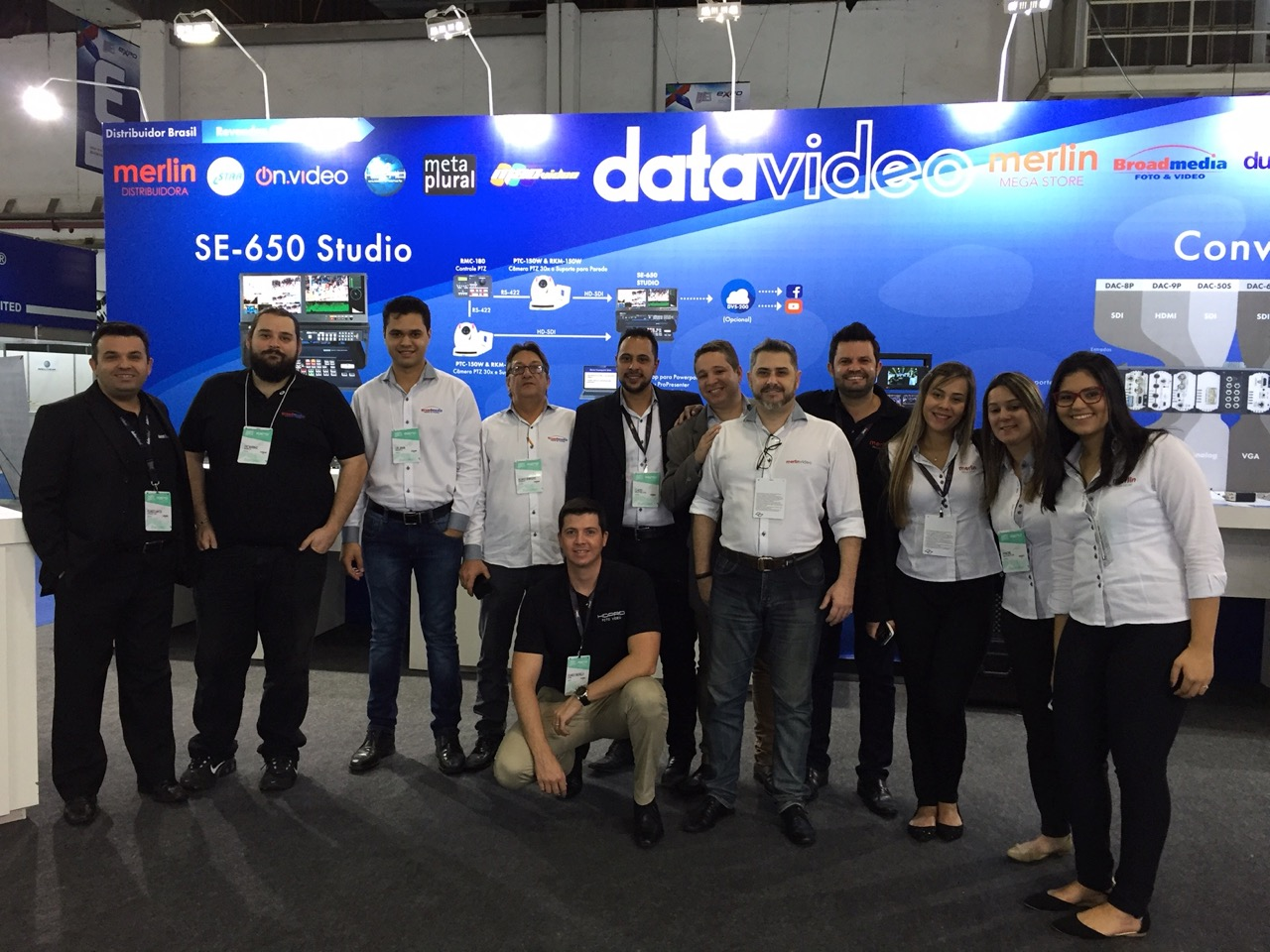 Thanks For Visiting Datavideo at SET 2017