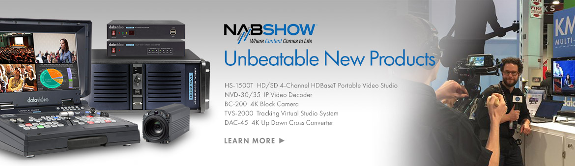 NAB Show 2017 Exhibition Preview