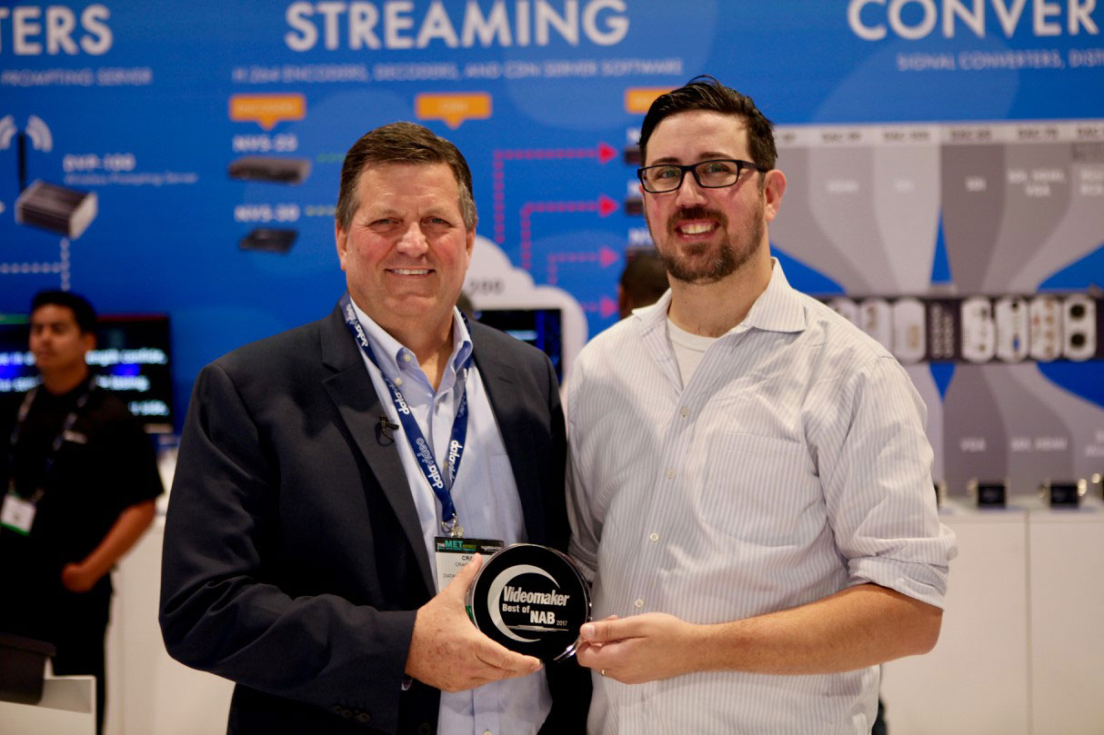Video Maker Award with Craig Moffat for SE-650 Stream and Record GoKit
