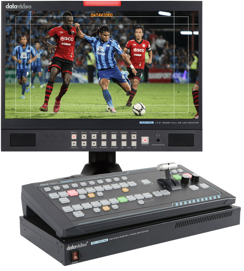 Black Friday Sale At Datavideo Heavily Discounted Production 6 Input Mixer This Six Channel Bundle Is A Complete Solution With Switcher 2x Hdmi 4x Hd Sdi And Convenient Hardware Control Panel