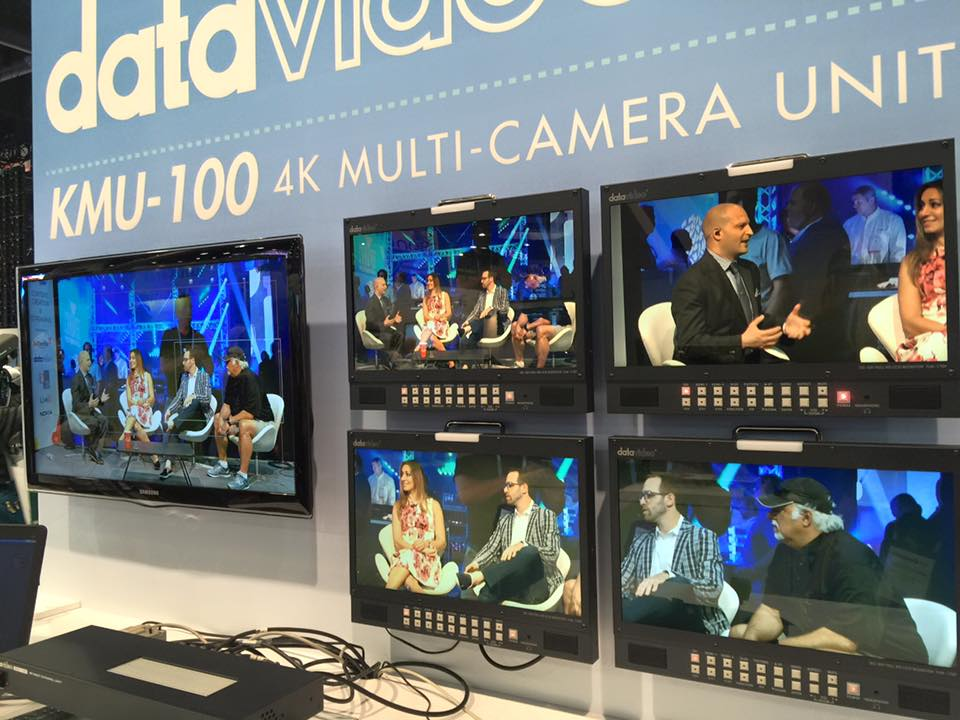Datavideo Announces KMU-100 4K Multicamera Processor and RMC-185 Controller are Now Shipping